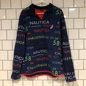 Nautica fleece size large